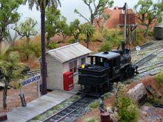 Koonunga Junction is an Australian On30 layout, built in France | Flickr - Photo Sharing!
