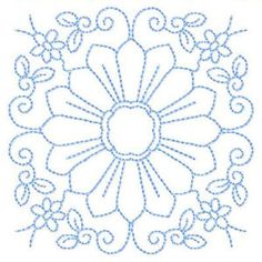 QuiltFlorals - Free Instant Machine Embroidery Designs
