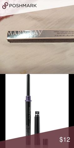 Mary Kay eyeliner in Violet ink Brand new! Never used, eyeliner needs to be bought and sold ASAP! Mary Kay Makeup Eyeliner