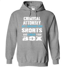 CRIMINAL ATTORNEY will remove your shorts check your bo - #tee aufbewahrung #baggy hoodie. CHECK PRICE => https://www.sunfrog.com/Funny/CRIMINAL-ATTORNEY-will-remove-your-shorts-check-your-box-6222-SportsGrey-10986214-Hoodie.html?68278