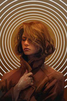 Orange, Rashed Alakroka - Me, Digital painting, 2020 - Art Fantasy Posters, Canvas Art, Canvas Prints, Cool Sketches, Artist Names, Horror Art, Print Artist, Your Paintings, Community Art