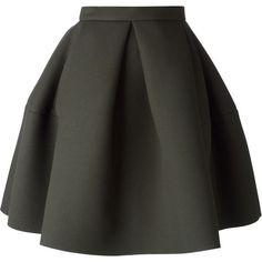 Kenzo pleated skirt (£255) ❤ liked on Polyvore featuring skirts, bottoms, faldas, saias, kenzo, knee length pleated skirt, a-line skirt, knee length a line skirt and pleated skirt