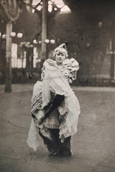 La Goulue, Queen of Montmartre, dancer of the Moulin Rouge, in many Lautrec's works, credited with inventing the Can-Can