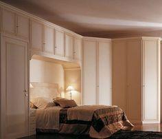 Camera da letto a ponte classica | Arredo Milano classico