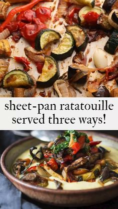 Veg Recipes, Mexican Food Recipes, Whole Food Recipes, Vegetarian Recipes, Healthy Chicken Dinner, Healthy Dinner Recipes, Easy Ratatouille Recipes, Hot And Sour Soup, Fish Dinner