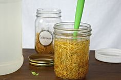 Herbal Glycerites For Skincare (How and why to make non-alcoholic herbal tinctures)