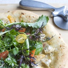 Clam Pizza with Salad Topping | Food & Wine