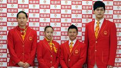 Olympic Uniforms for London 2012 ~ China