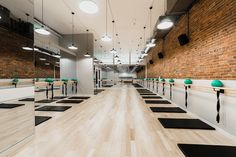steve nash ufc gym interior deisgn by cutler in vancouver bc
