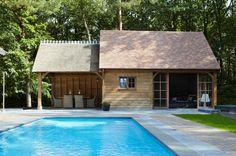 Une valeur ajoutée pour votre jardin - Photo detail: Poolhouse. Lisez en plus sur Logic-Immo.be !