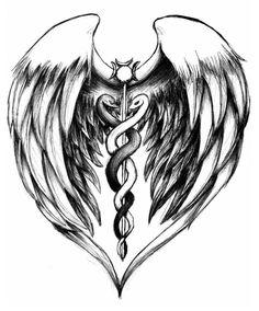 Medical alert tattoo idea.