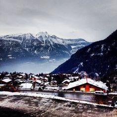 Beautiful @Ovronnaz, Switzerland! Places In Switzerland, Places Ive Been, Mount Everest, Beautiful Places, Mountains, Building, Travel, Viajes, Buildings