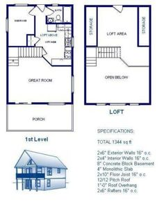 20x50 metal building living floor plans google search for House material packages