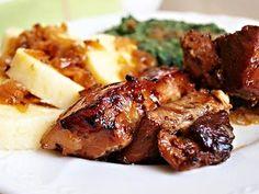 Zajímavé! Czech Recipes, Pork Tenderloin Recipes, Paleo, Food And Drink, Beef, Meals, Chicken, Cooking, Chef Recipes