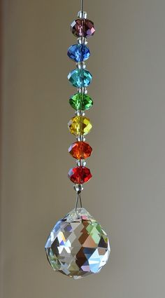 Faceted Crystal Ball Strass by CrystalsAndRainbows on Etsy, €5.60