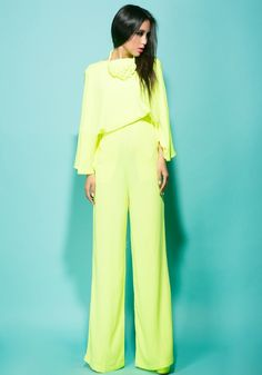 Morpheus Boutique  - Lime Green Long Sleeve