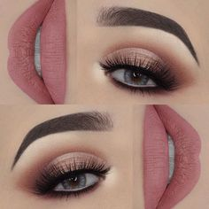 Schritt für Schritt Make-up - Makeup Tips For Older Women Homecoming Makeup, Prom Makeup, Bridal Makeup, Wedding Makeup, Smokey Eye Makeup, Eyeshadow Makeup, Lip Makeup, Makeup Geek, Makeup Goals