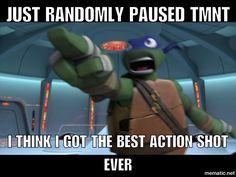 Randomly paused tmnt