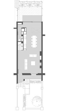 Mies van der rohe casa hubbe 1935 arch pinterest for Minimal architettura