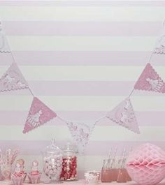 Princess baby shower banner