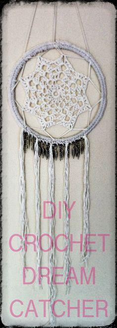 DIY Crochet Dreamcatcher