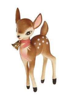 Vintage Rudolph's Girl Figurine