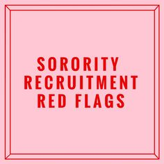 Sorority recruitment tips Sorority Rush Week, Sorority Rush Outfits, Sorority Recruitment Outfits, Sorority Girls, Delta Gamma, Red Flag, Flags, Drinking, How To Find Out