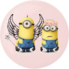 Minions can be ANGELS too!! Maybe?!