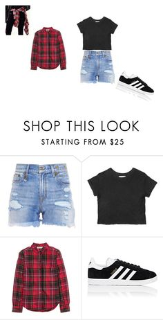 """Street Style"" by aneishascotland on Polyvore featuring R13, Joie, H&M and adidas"