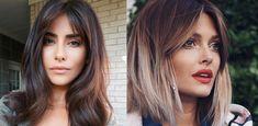 Grzywka poprawiająca rysy twarzy: curtain bangs wraca prosto z lat 70'