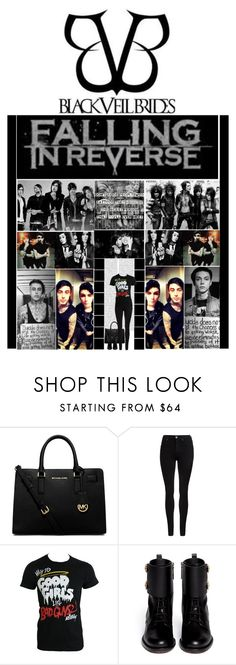 """""""FIR & BVB (Andy & Ronnie)"""" by irresistible-livingdeadgirl ❤ liked on Polyvore featuring Oris, Michael Kors, Dr. Denim, Valentino, women's clothing, women, female, woman, misses and juniors"""