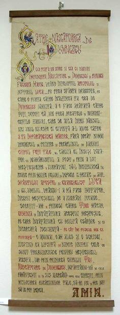 """EriCrisArt, Credinta, Claudiu Victor Gheorghiu,  Filacteră cu Rugăciunea iconarului către MAICA DOMNULUI din Erminia Pict. Bizantine. Vernisajul expozitiei – de pictura, icoane si filactere – intitulata """"Credintă"""" a avut loc joi, 3 decembrie 2015, la Galeria EriCris Art. Expozitia reuneste pe simeze lucrări semnate de : Mihail Gavril , Claudiu Victor Gheorghiu, Ana Mirisan, Olga Popescu. Expoziţia a fost prezentată de dr. Roxana Păsculescu – critic de artă şi jurnalist Radio România…"""