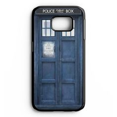 Doctor Who Tardis Samsung Galaxy S6 Edge Plus Case