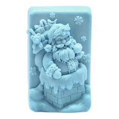 Molde jabón navidad, Santa Claus