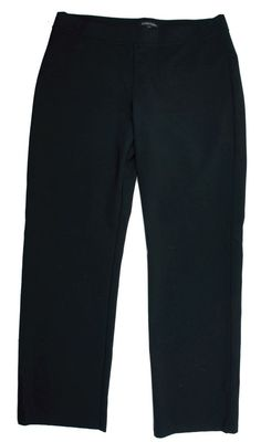 New EILEEN FISHER Size M Black Knit Elastic Waist Pants #EileenFisher #CasualPants