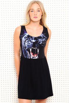 """Vintage Renewal """"Wildlife"""" Kleid bei Urban Outfitters"""