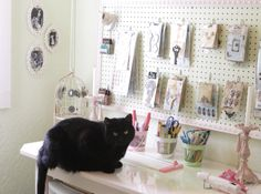 Craft Room Kitty - Scrapbook.com