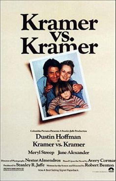 Kramer vs. Kramer, 1979. Winner of the Best Picture Oscar. It received five Academy Awards in all, including Best Picture, Best Director, Best Adapted Screenplay, Best Actor, and Best Supporting Actress.