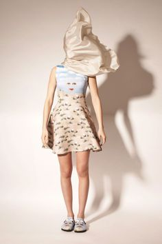 Opening Ceremony did a collection of clothes based on the famous paintings of Magritte.