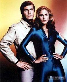 """Gil Gerard as Captain William """"Buck"""" Rogers and Erin Gray as Colonel Wilma Deering in the TV series """"Buck Rogers in the Century"""" 80 Tv Shows, Sci Fi Shows, Classic Tv, Classic Movies, Top Tv, Buck Rodgers, Rogers Tv, Mejores Series Tv, Erin Gray"""