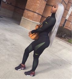 Find images and videos about outfit, long hair and nike on we heart it - the app to get lost in what you love. Nike Outfits, Chill Outfits, Casual Outfits, Fashion Outfits, Dope Fashion, Fashion Killa, Urban Fashion, Womens Fashion, Looks Halloween