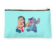 Lilo and Stitch eating Studio Pouch