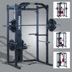Review of the Powertec P-PR Power Rack with P-LTO Lat Tower Option