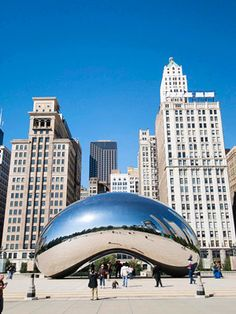 From the travel experts at Midwest Living, here is a list of Chicago's best attractions, including museums, gardens, sports and music. Chicago Hotels, Chicago Attractions, Chicago Travel, Travel Usa, Chicago Trip, Chicago Things To Do, Places In Chicago, Oh The Places You'll Go, Places To Travel