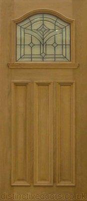 Brookland Exterior Oak Door