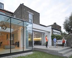 iron conservatories modern - Google Search
