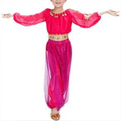 BellyLady Kid Tribal Belly Dance Costume, Harem Pants & Long Sleeve Top Sets ROSERED-S BellyLady http://www.amazon.com/dp/B00I3A66Q6/ref=cm_sw_r_pi_dp_Lh6Evb0YRSGST