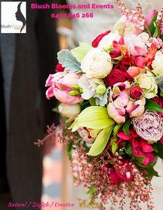 A vintage and rustic floral design in an informal design www.blushbloomsandevents.com.au