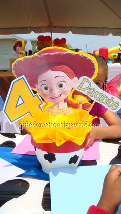 Toy Story Woody Round Up Birthday Party Ideas | Photo 1 of 22 | Catch My Party