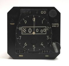 RAF RN Aircraft Altimeter Instrument Gauge Indicator Vickers VC10 | eBay